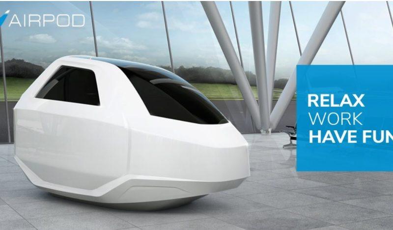 Yeni Bir ICO Airpod Uyku Kapsülü